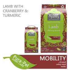 Green Pantry Lamb with Cranberry & Turmeric Dry Dog Food