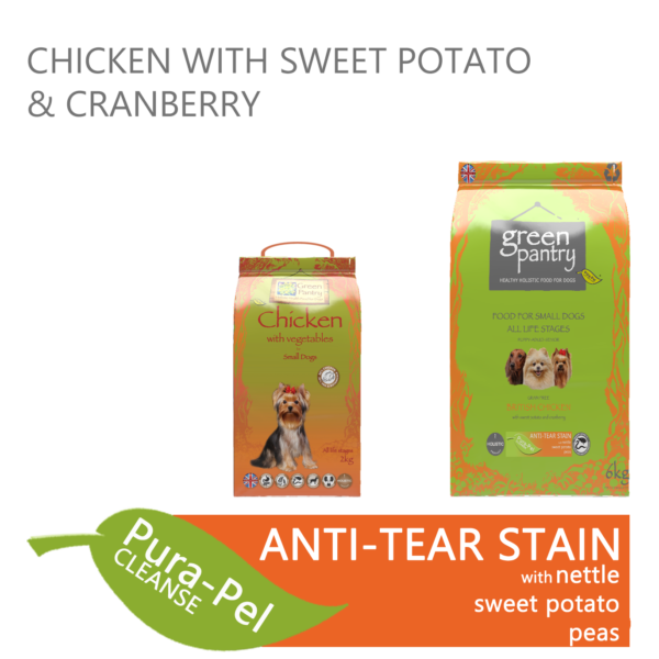 Green Pantry Chicken with Sweet Potato & Cranberry Dry Dog Food