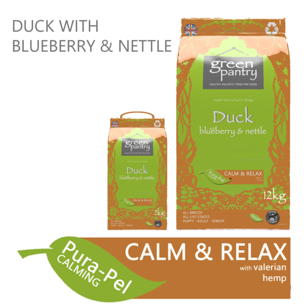Green Pantry Duck with Blueberry & Nettle Dry Dog Food