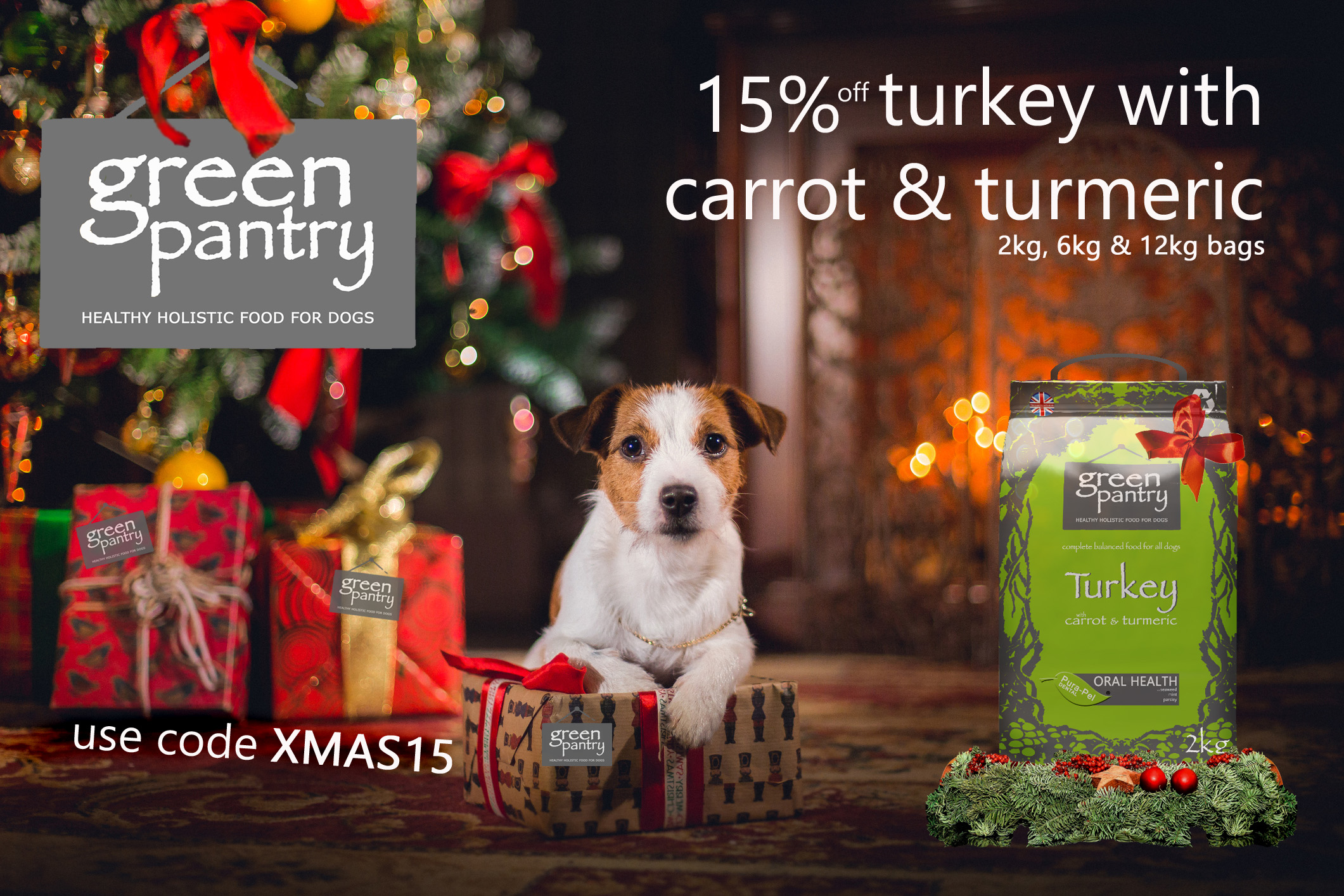 Green Pantry Turkey with Carrot & Turkey